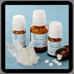соли Шюсслера комбинации